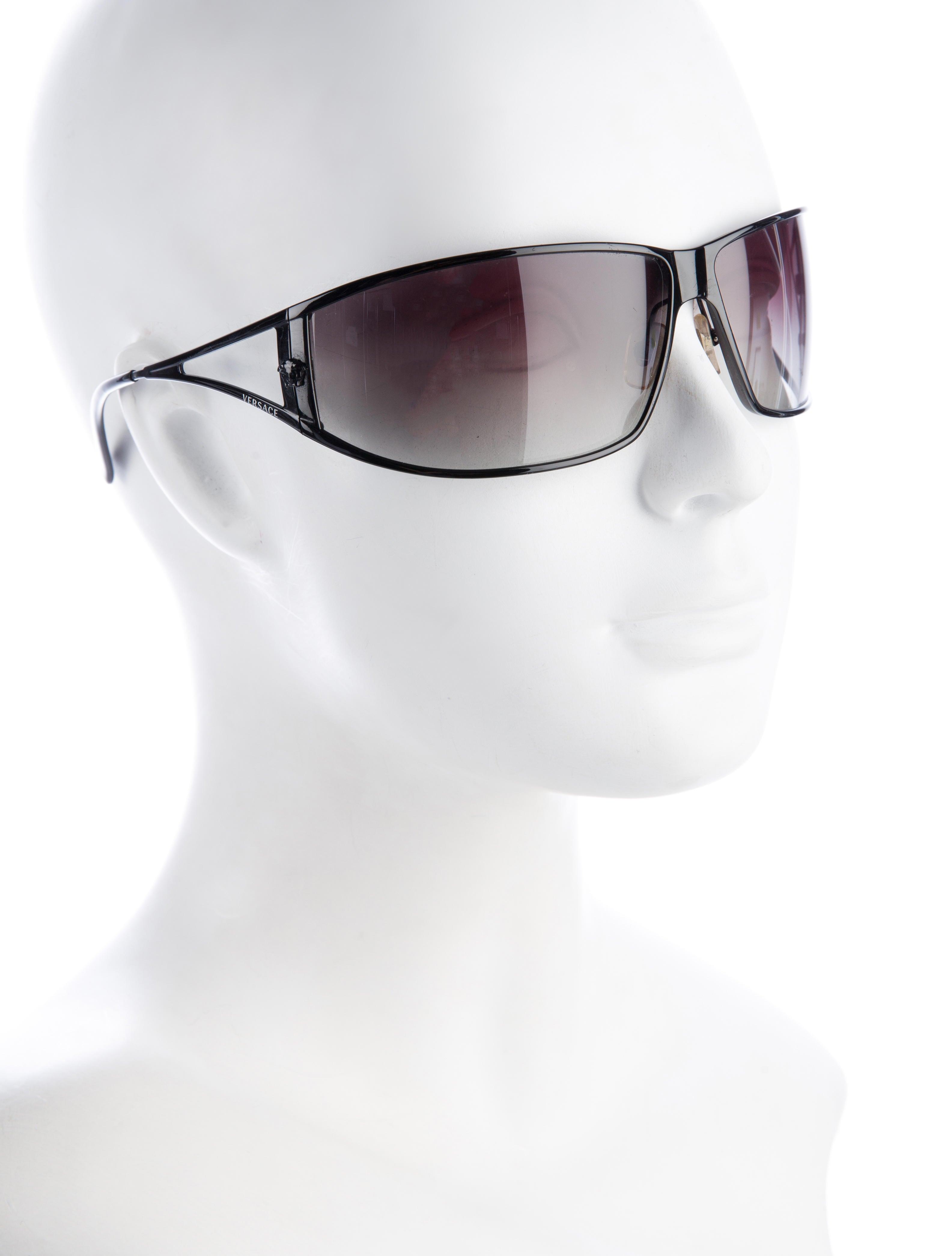c5b100b756 Versace Medusa Metal Shield Sunglasses « Heritage Malta