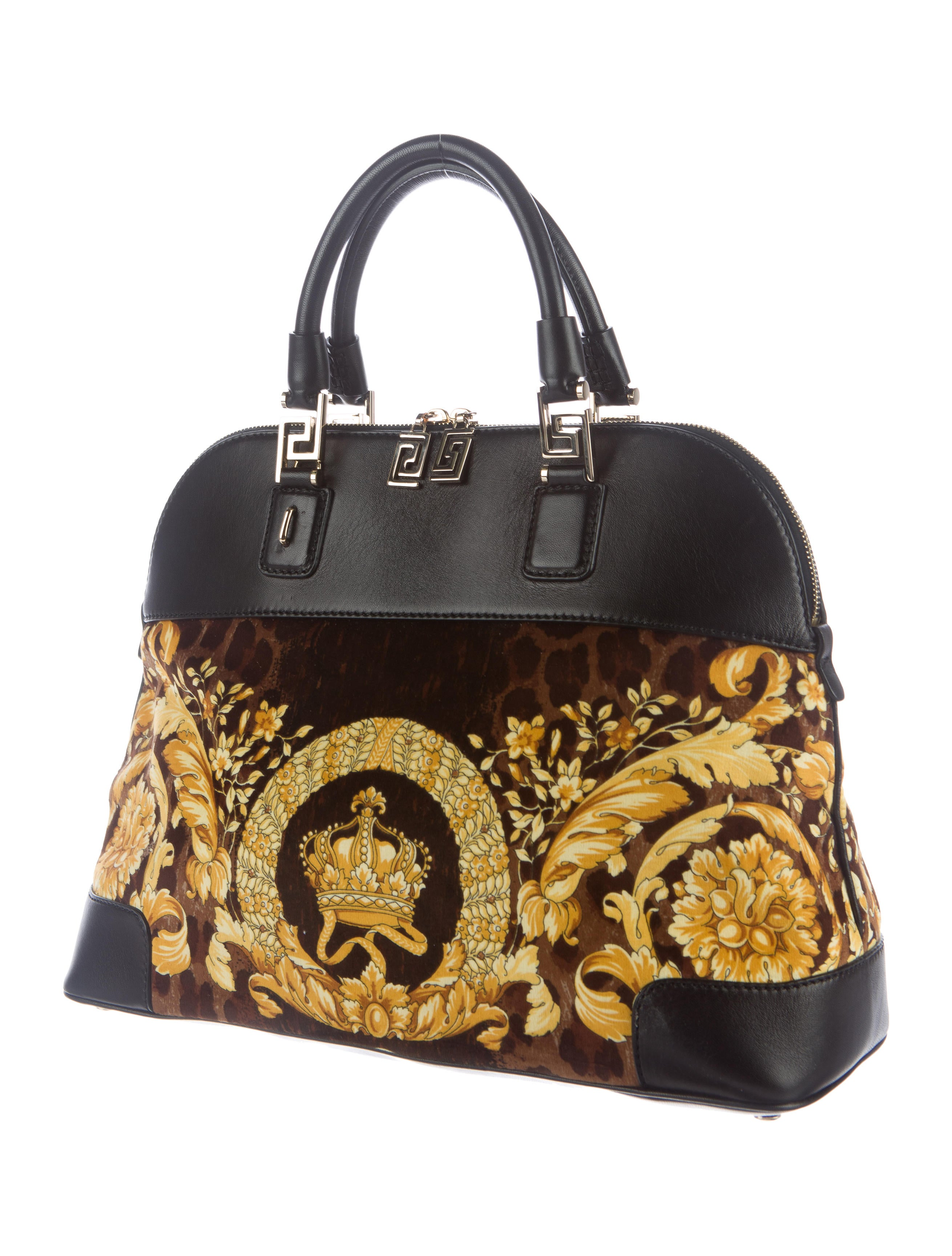 Versace Athena Velvet Vaitas Bag Handbags Ves30706