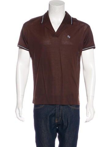 Versace Piqué Polo Shirt None