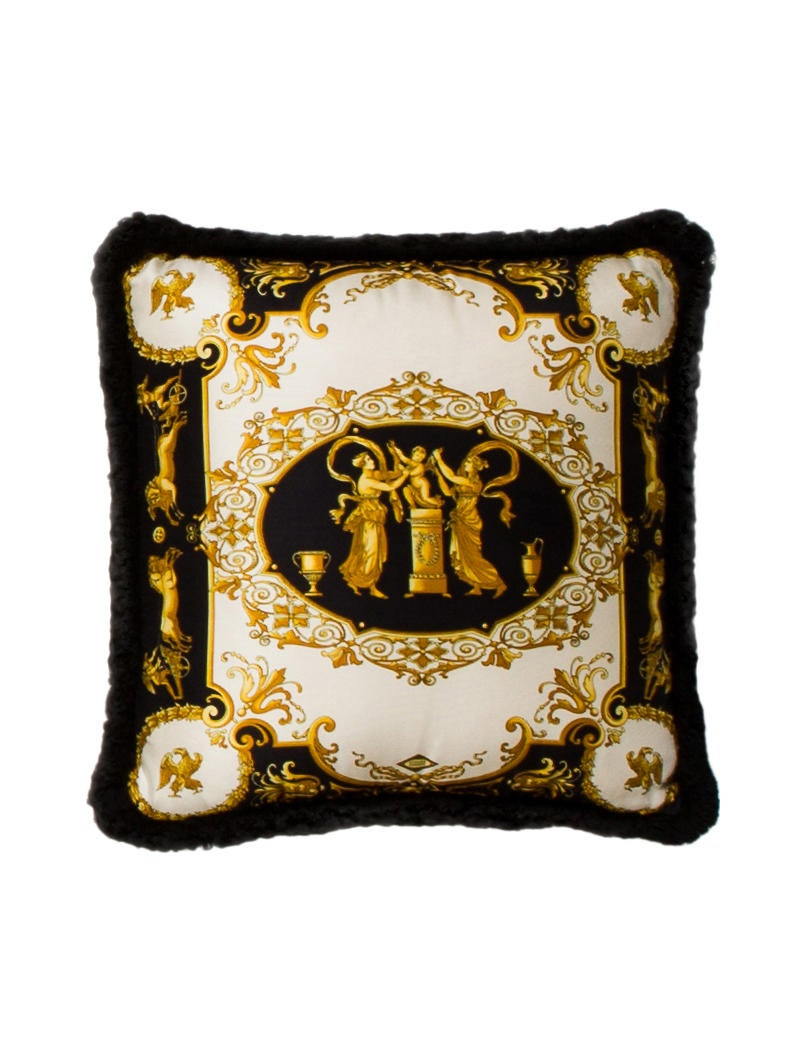 Versace 6-Piece Heritage Comforter & Medusa Throw Pillow Set - Bedding And Bath - VES30773 The ...