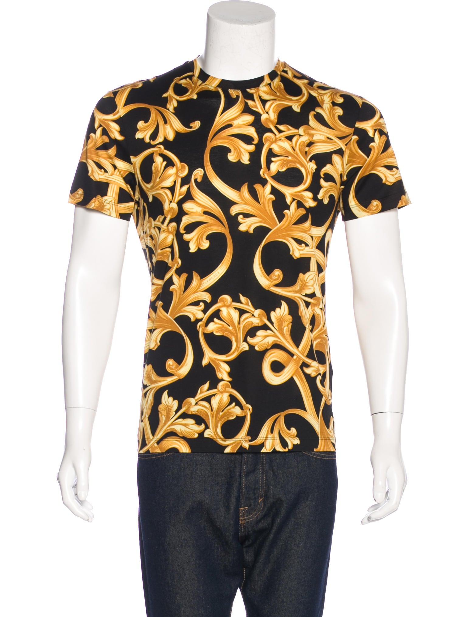 Versace print t shirts
