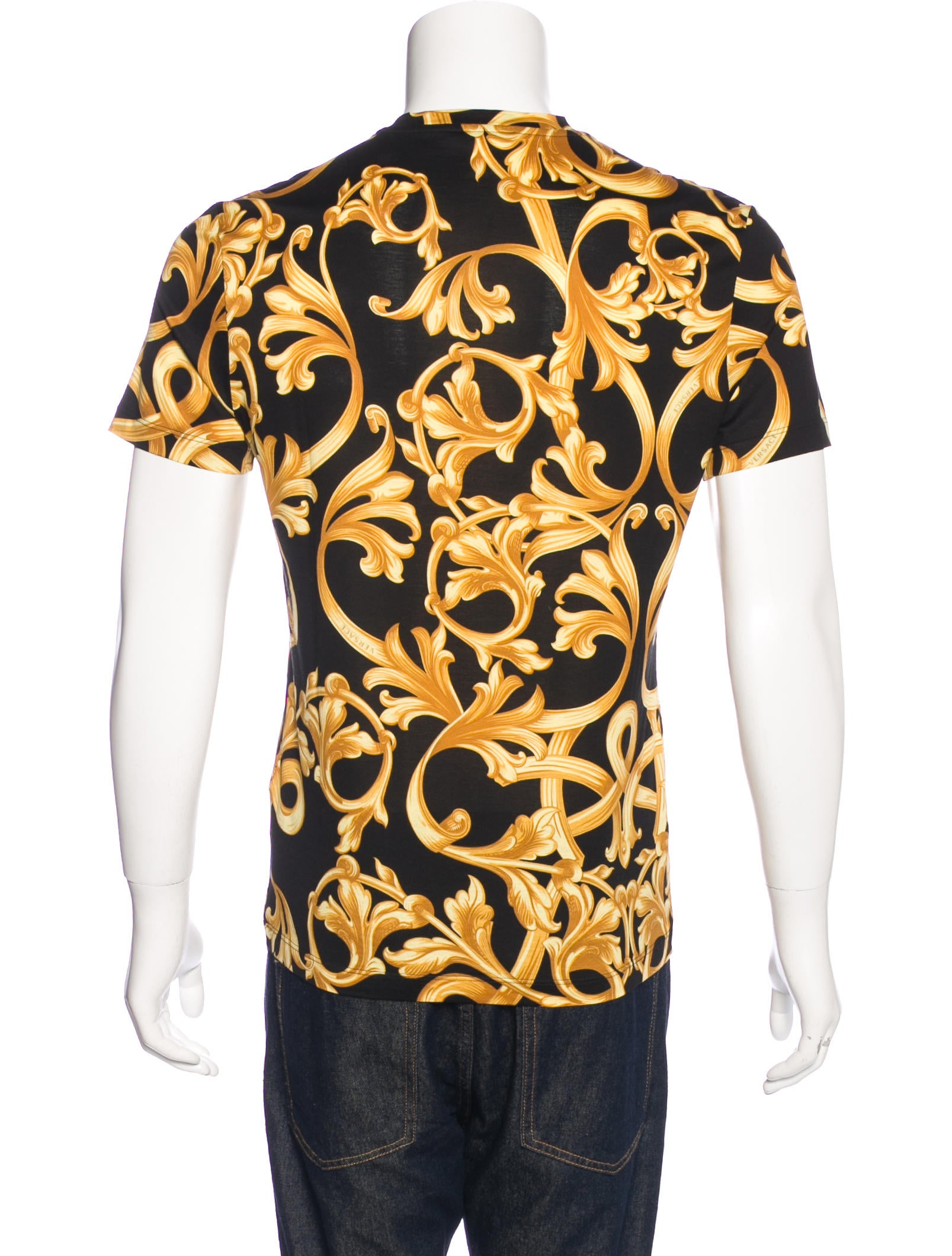 Versace Barocco Print T-Shirt - Clothing - VES30796 | The ...