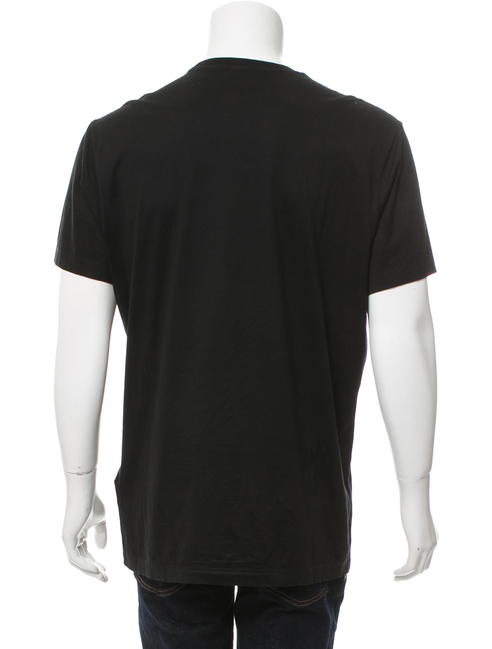 Versace 2017 Medusa Crew Neck T Shirt Clothing  : VES311263enlarged from www.therealreal.com size 1671 x 2205 jpeg 115kB