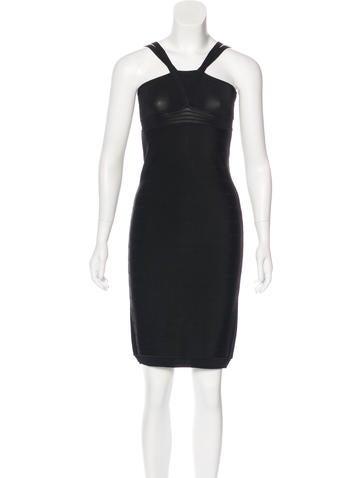 Versace Sleeveless Knit Dress None