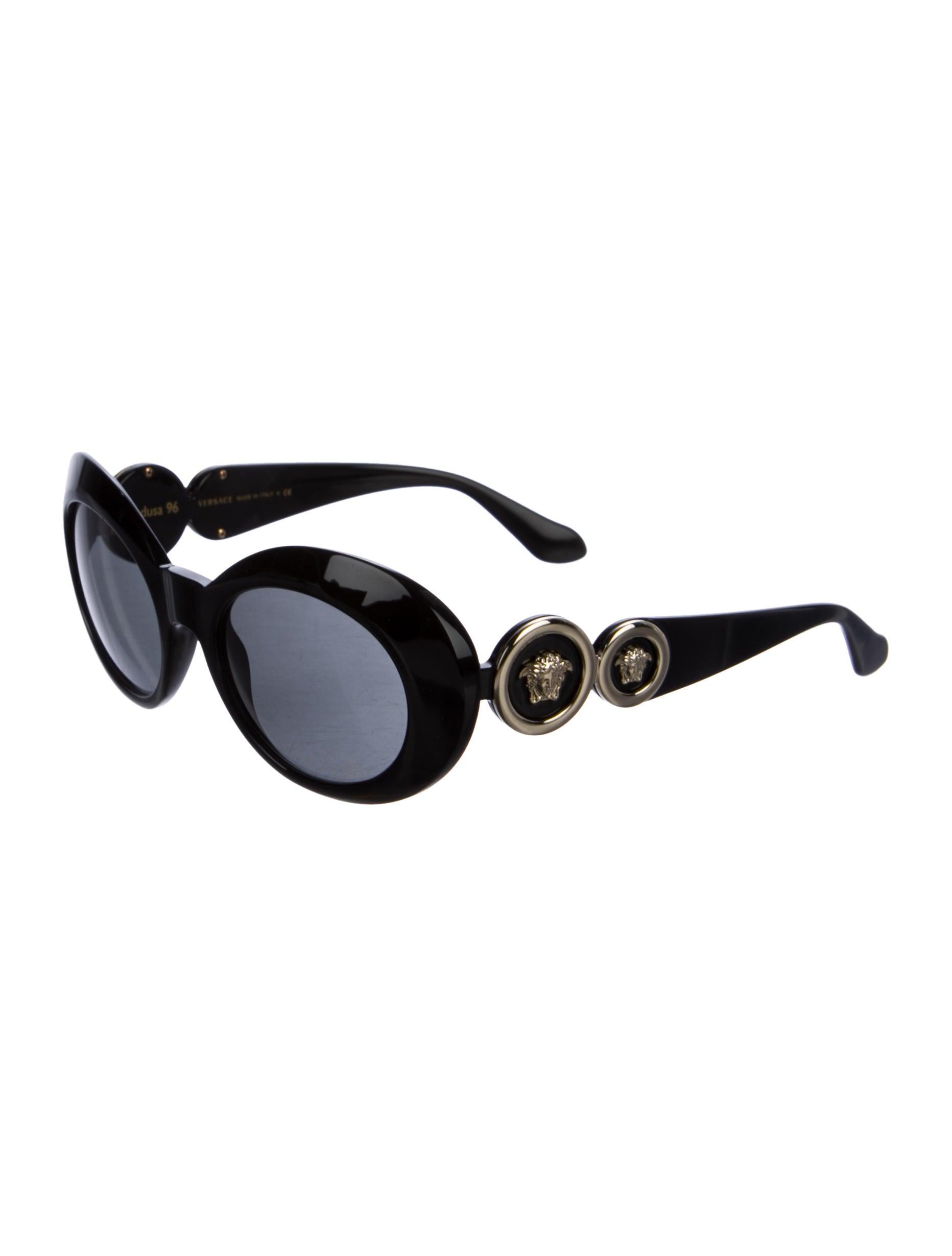 eb863f60fb3a Versace Round Sunglasses - Bitterroot Public Library