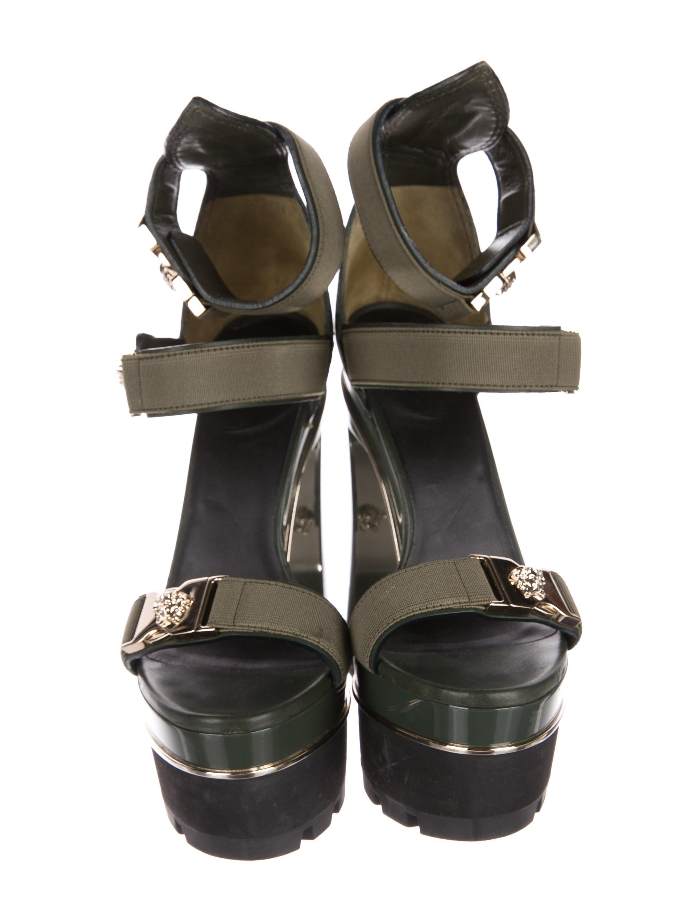 Versace Medusa Platform Sandals Shoes Ves31271 The