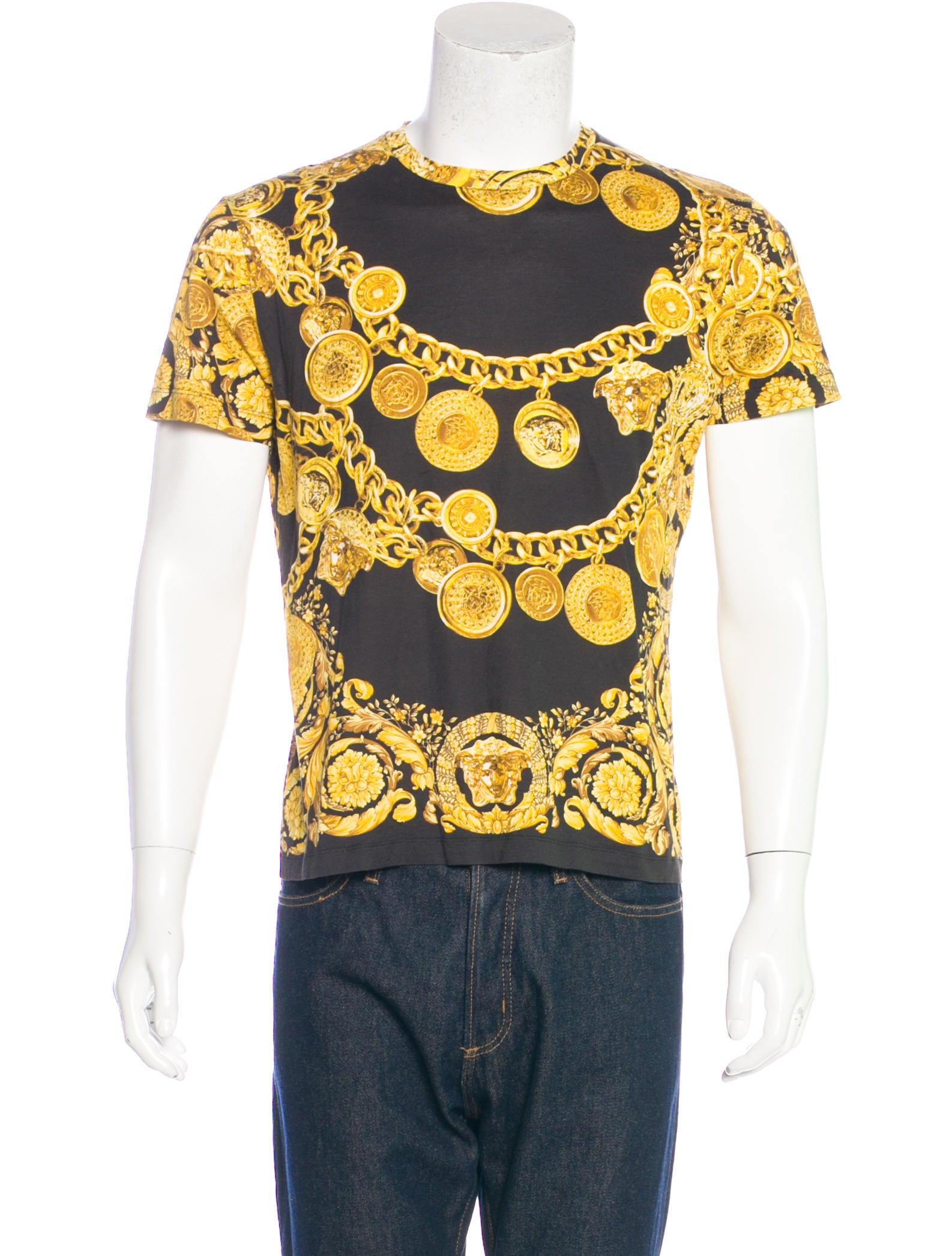 0a0b119c Versace Palazzo Chain Print T-Shirt - Clothing - VES31383 | The RealReal