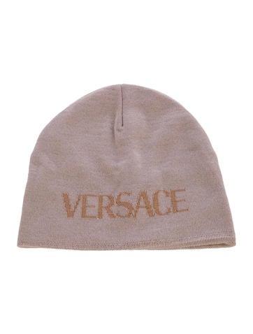 Versace Logo Wool Beanie None