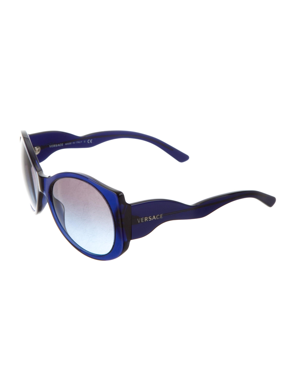 54548ceff402 Versace Gradient Cat-Eye Sunglasses - Accessories - VES31848
