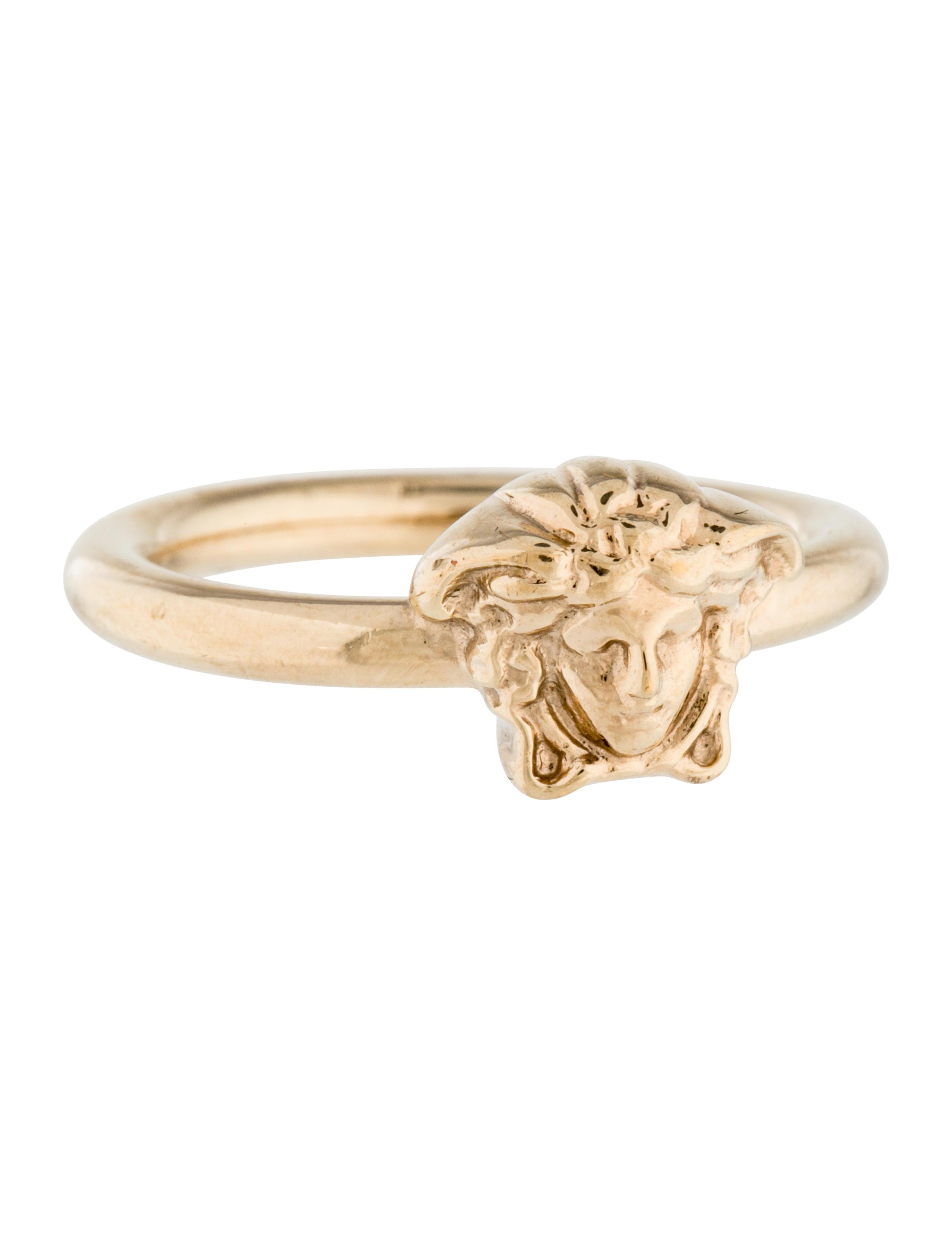 Versace Medusa Diamond Ring