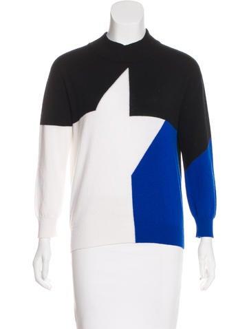 Versace Cashmere Colorblock Sweater None