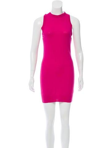 Versace Wool Mini Dress w/ Tags None