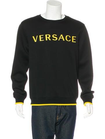 Versace 2017 Logo Sweatshirt None