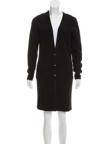Wool Longline Cardigan