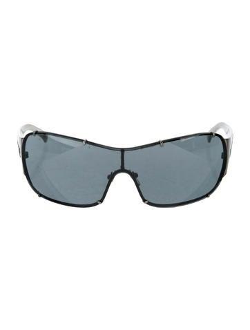 98493276e74 Versace Embellished Wayfarer Sunglasses - Accessories - VES35192 ...