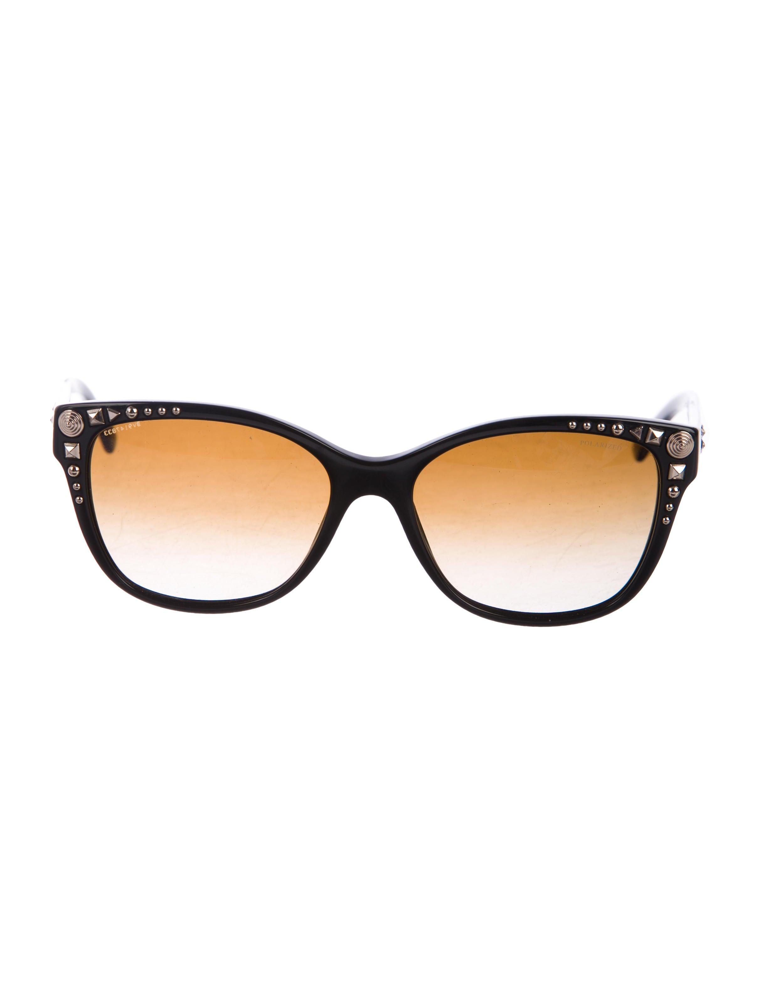 c8904bdae9b Versace Embellished Cat-Eye Sunglasses - Accessories - VES34875 ...