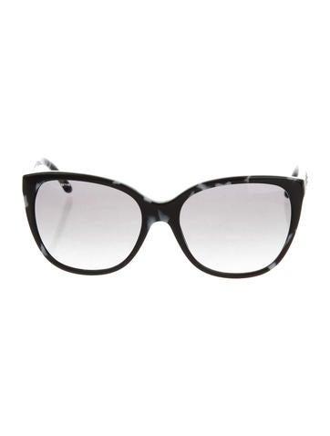 f7e1059e372 Versace Studded Gradient Sunglasses - Accessories - VES35082
