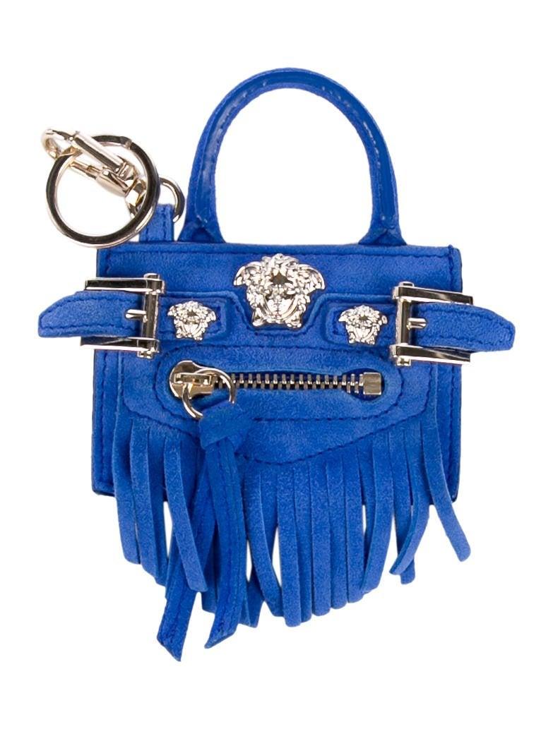 77c71db6c09 Versace Mini Palazzo Handbag Keychain - Accessories - VES35612   The ...