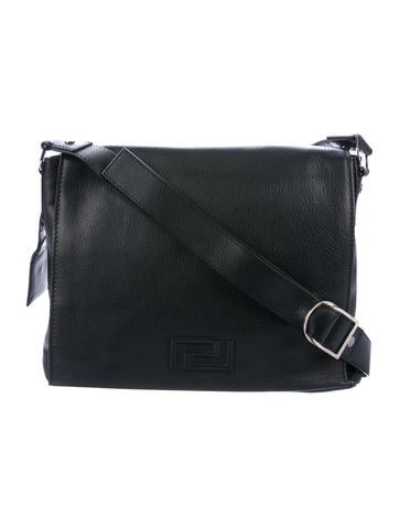 Versace. Pebbled Leather Messenger Bag.  495.00 · Bottega Veneta. Intrecciato  Leather Messenger Bag fe0979d70c