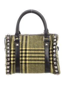 eb3ca4d4c7e Versace. Houndstooth Embellished Bag