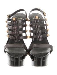 Leather Platform Sandals image 3
