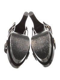 Leather Platform Sandals image 5