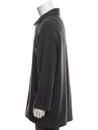 Virgin Wool Button-Up Coat image 2
