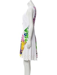 Sleeveless Knee-Length Dress image 2