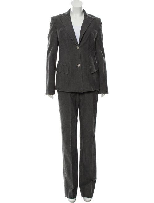 Versace Two-Piece Pantsuit Set Grey