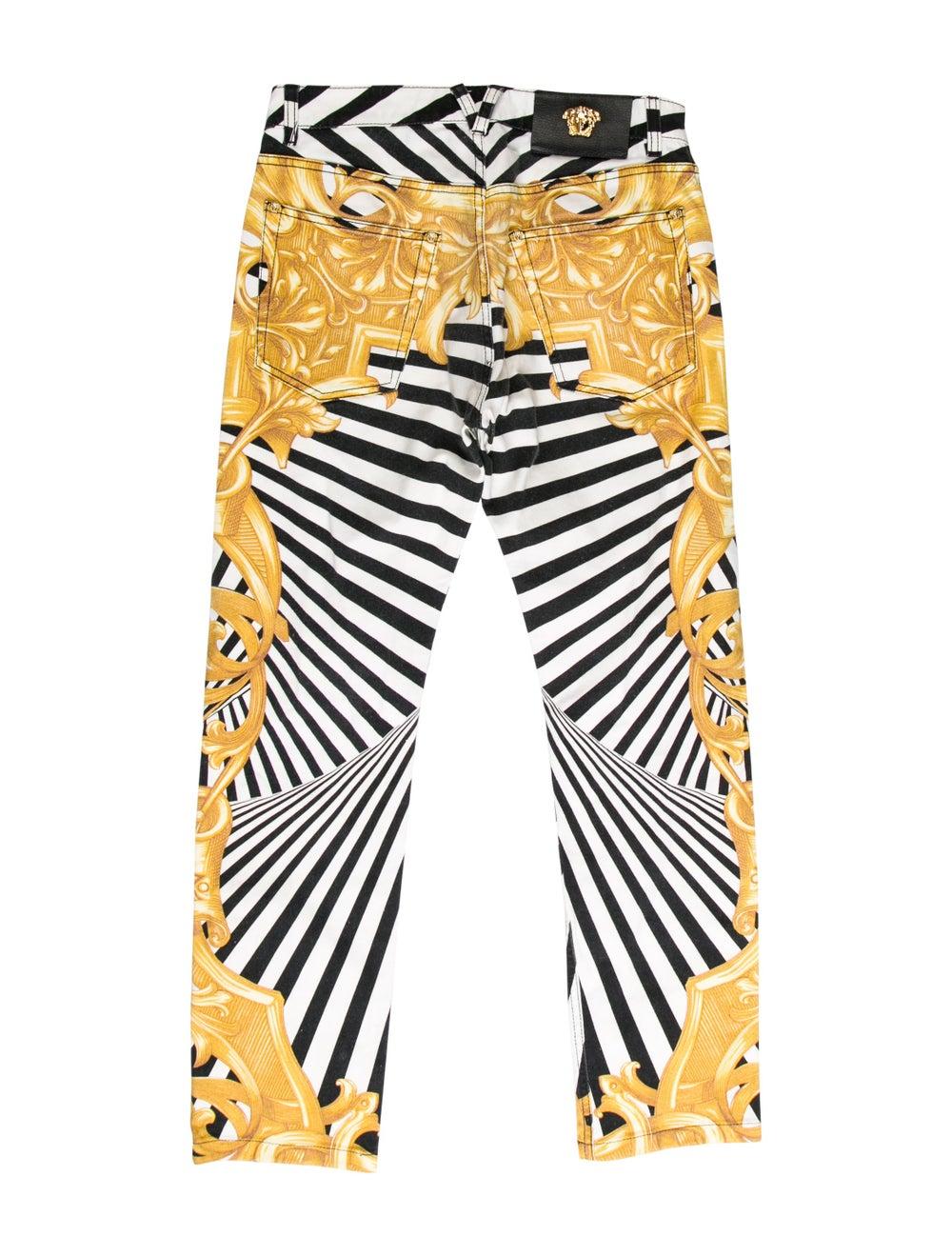 Versace Printed Skinny Jeans black - image 2