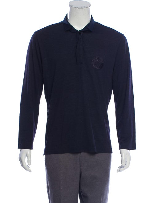Versace Wool & Silk-Blend Shirt wool