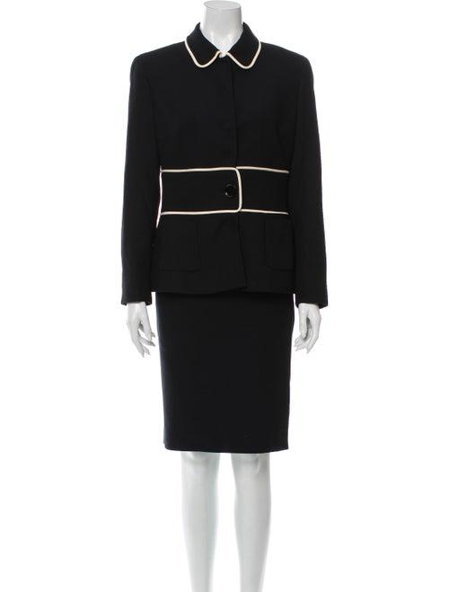 Versace Wool Skirt Set Wool