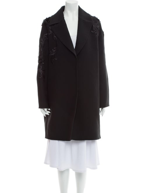 Versace Wool Coat Wool