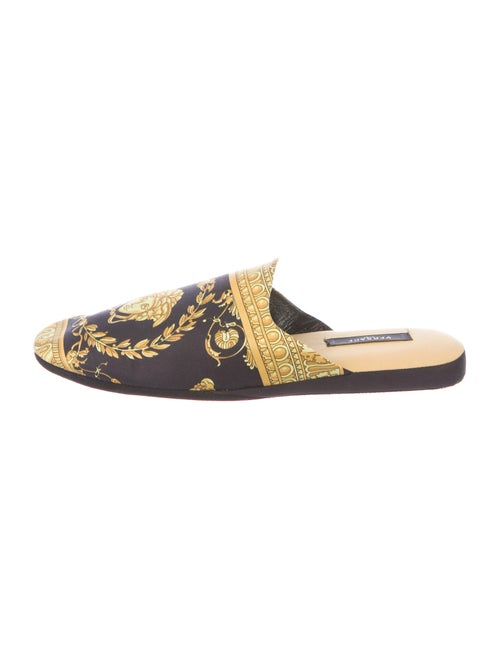 Versace Medusa Smoking Slippers black