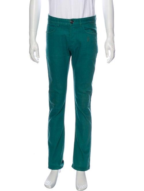 Versace Skinny Jeans Green