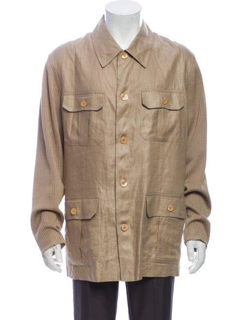 Versace Linen Jacket - image 1