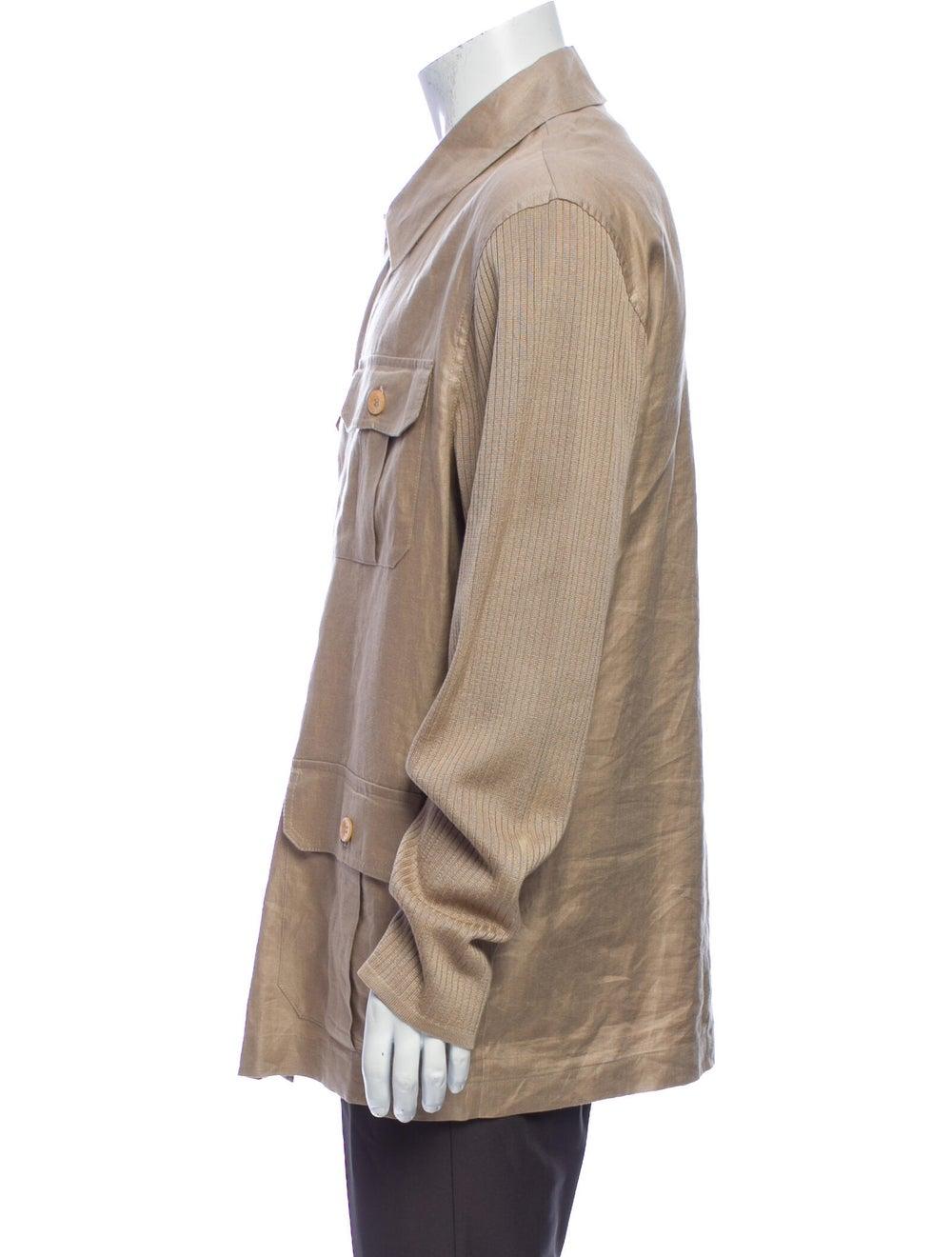 Versace Linen Jacket - image 2