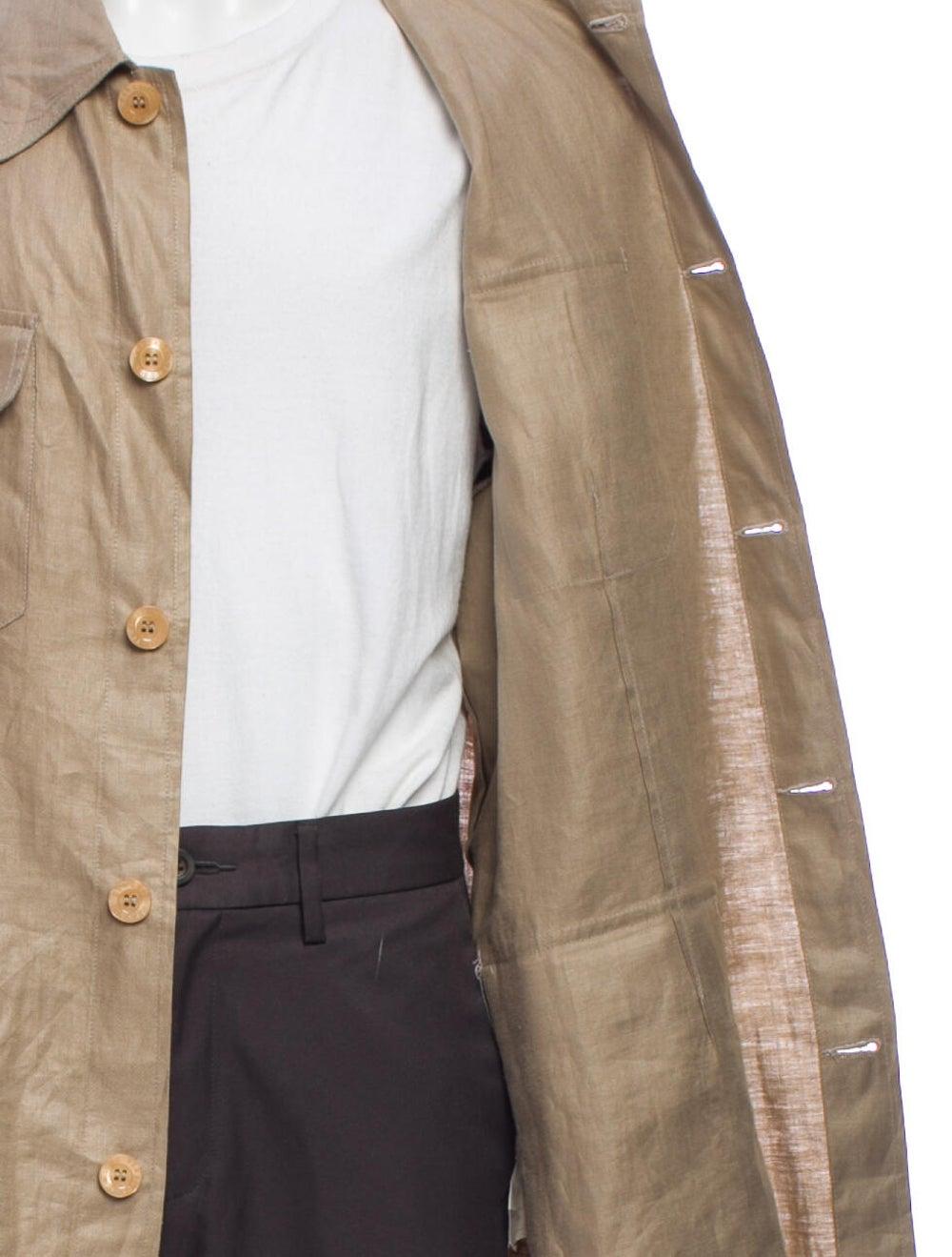 Versace Linen Jacket - image 4