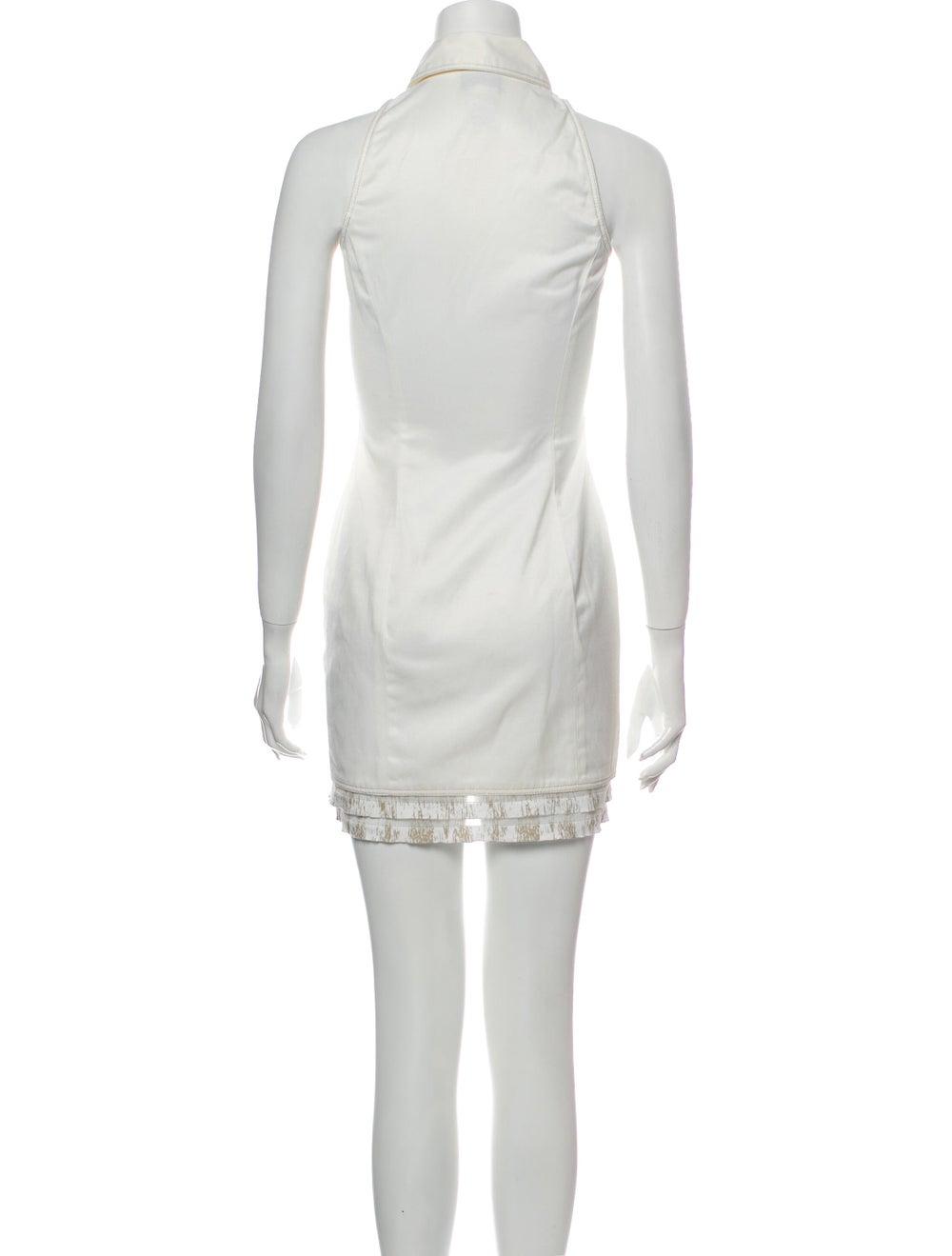 Versace Mini Dress - image 3