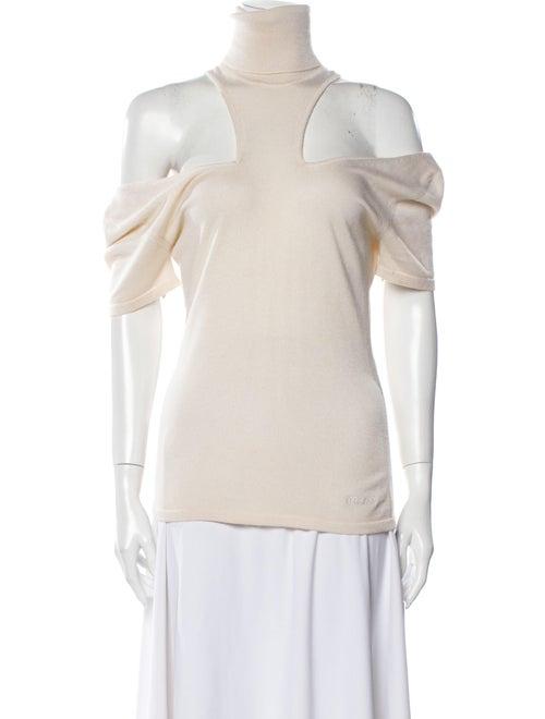 Versace Cashmere Turtleneck Sweater
