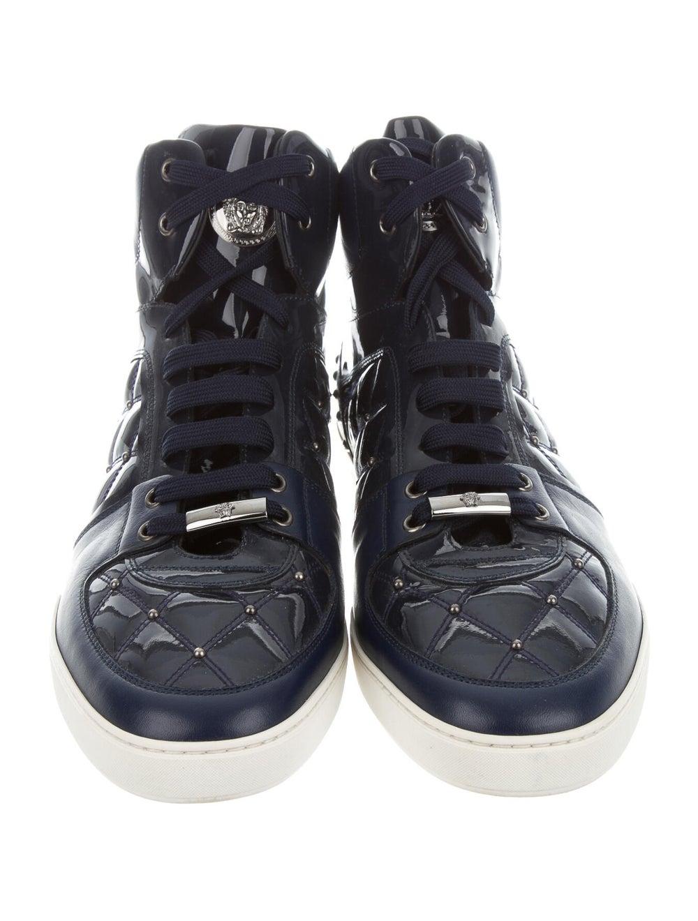 Versace Sneakers Blue - image 3