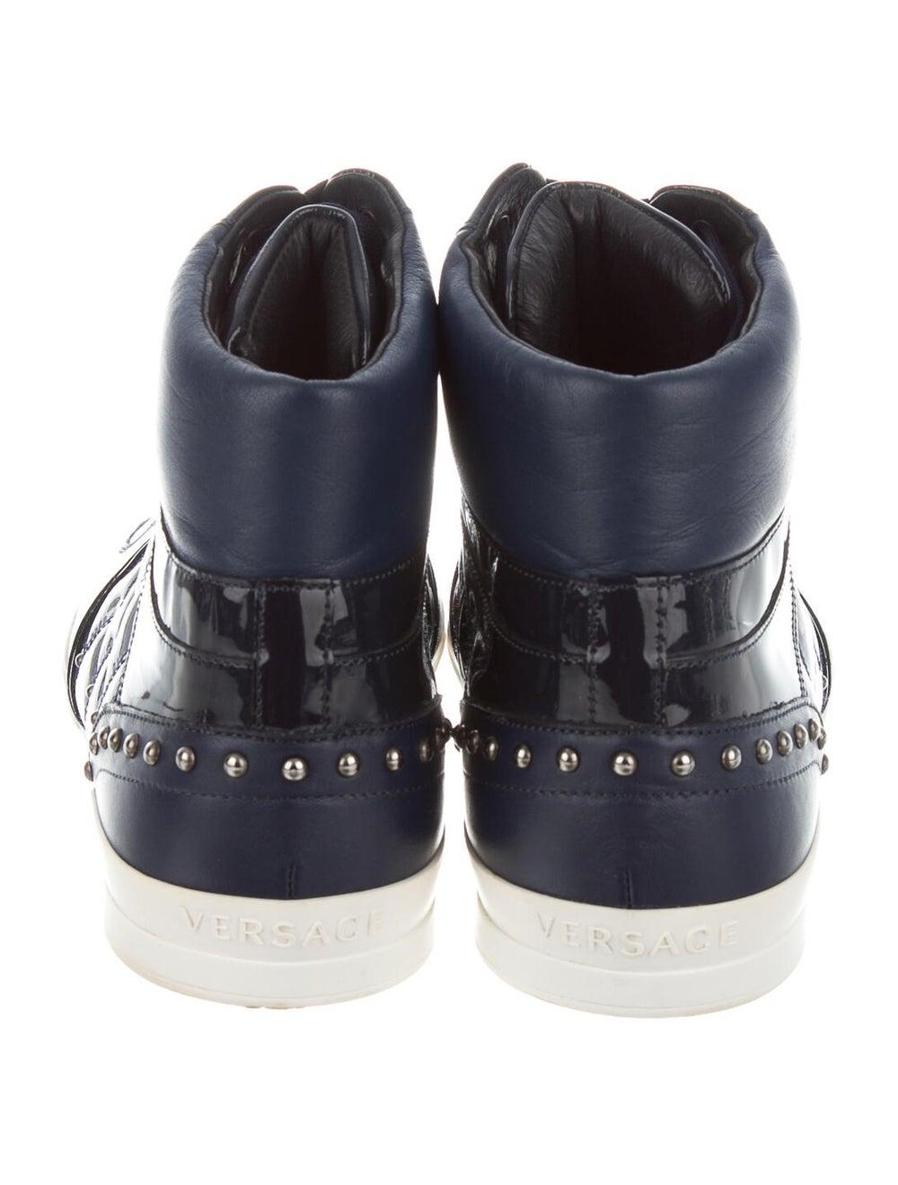 Versace Sneakers Blue - image 4