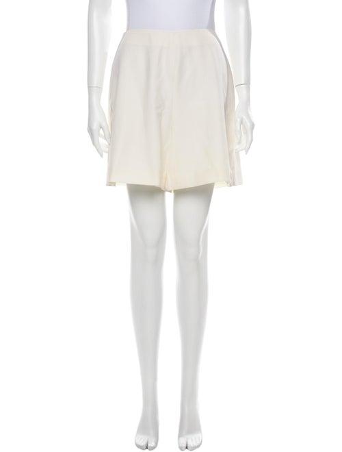 Versace Mini Shorts White