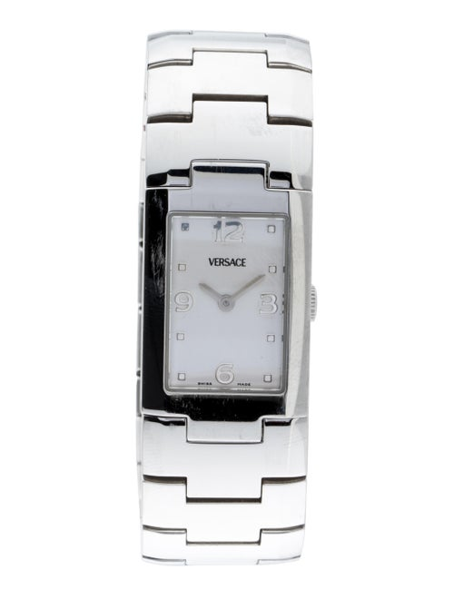 Versace Classic Watch Silver
