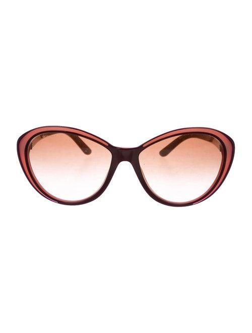 Versace Cat-Eye Tinted Sunglasses Pink