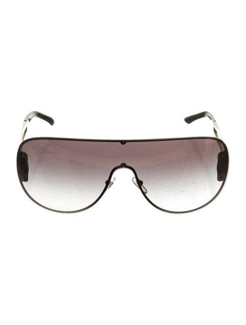 Versace Medusa Aviator Sunglasses gold - image 1
