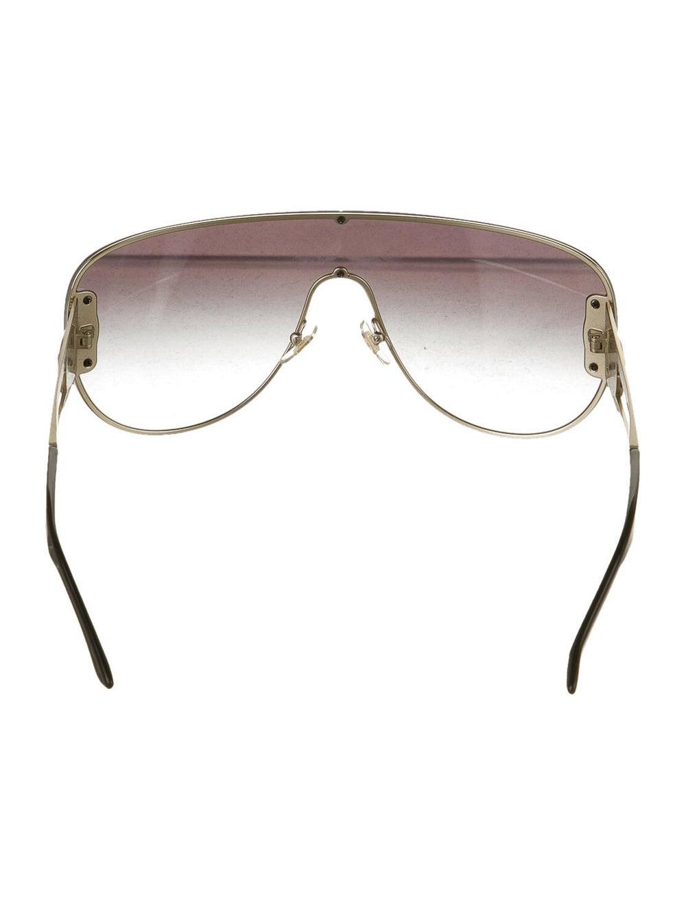 Versace Medusa Aviator Sunglasses gold - image 3