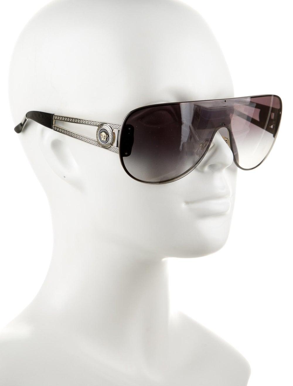 Versace Medusa Aviator Sunglasses gold - image 4