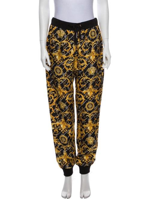 Versace Silk Printed Sweatpants w/ Tags