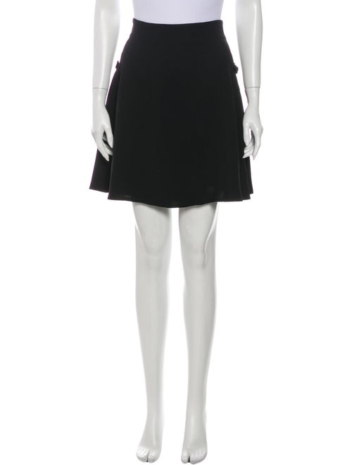 Versace Mini Skirt Black